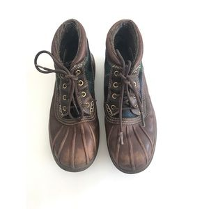 Cole Haan Nike Air Lace Up Waterproof Boots